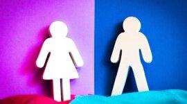 figuras que representan a un hombre y una mujer